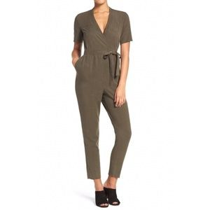 NWT French Connection green jumpsuit
